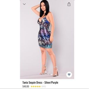 🦄NWT Fashion Nova Tania Sequin Dress🦄